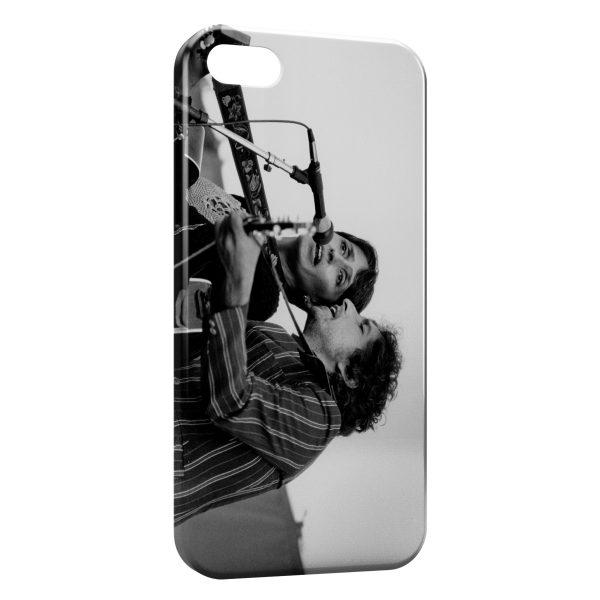 Coque iPhone 6 & 6S Joan Baez & Bob Dylan 2