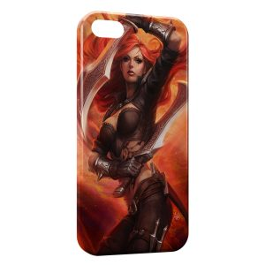 Coque iPhone 6 & 6S Leafue Of Legends Janna 1