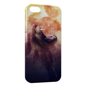 Coque iPhone 6 & 6S Lion Hurlement