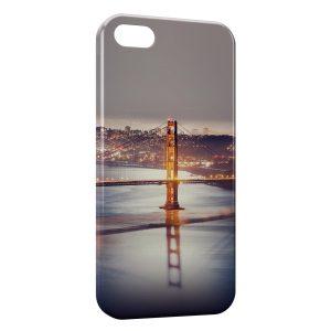 Coque iPhone 6 & 6S Long Bridge at Night