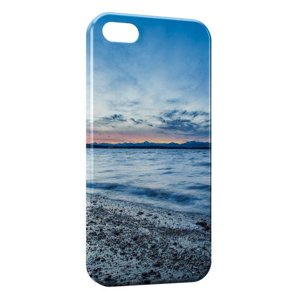 Coque iPhone 6 & 6S Mer & Plage