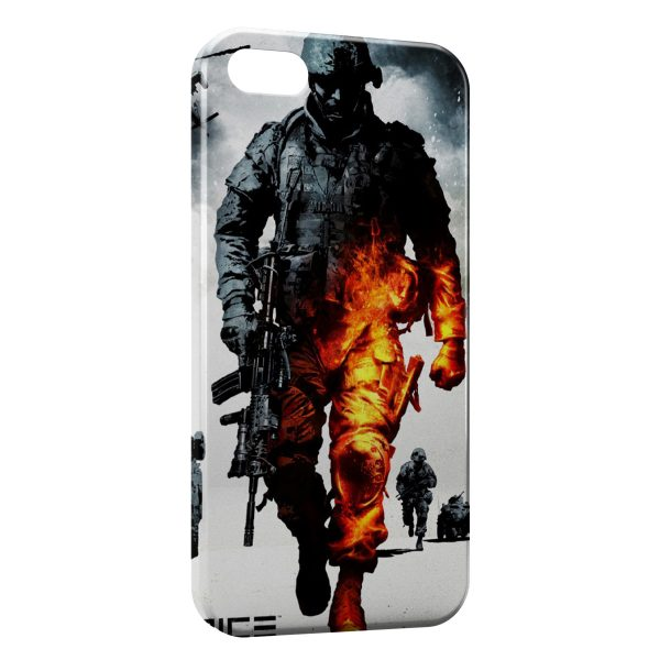 Coque iPhone 6 & 6S Military Burning Soldier