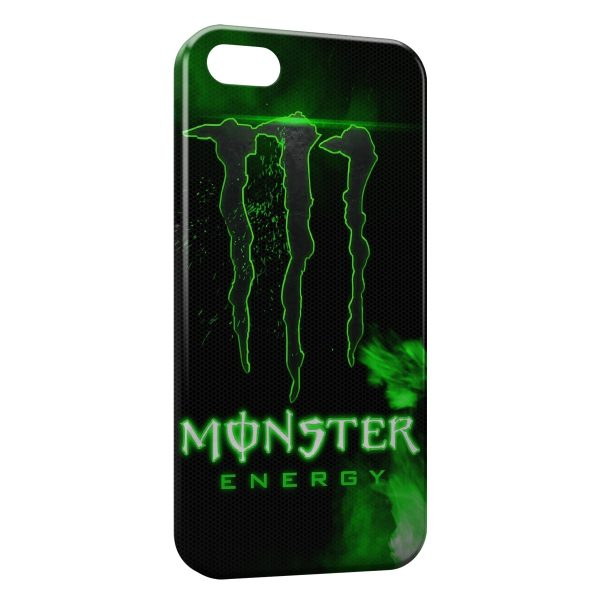 Coque iPhone 6 6S Monster Energy Green Style Design 600x600