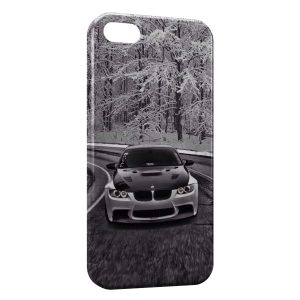 Coque iPhone 6 & 6S Neige & BMW voiture