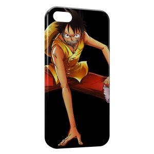 Coque iPhone 6 & 6S One Piece Manga Luffy 11