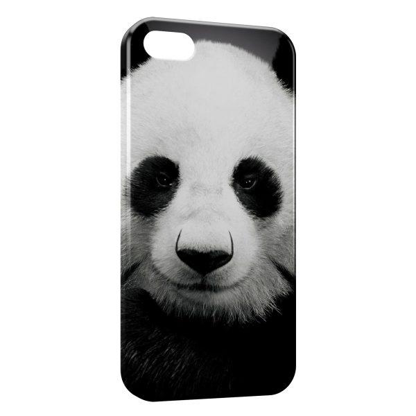 Coque iPhone 6 & 6S Panda Black White 3