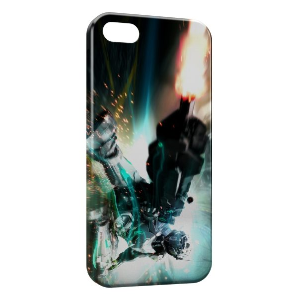 Coque iPhone 6 & 6S Robot Fire Game