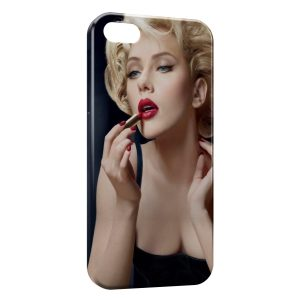 Coque iPhone 6 & 6S Scarlett Johansson Rouge a lèvres