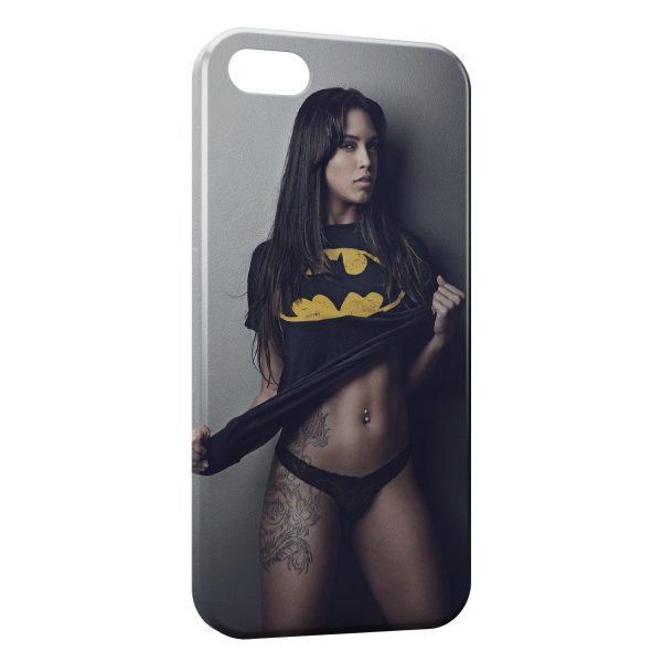 Coque iPhone 6 & 6S Sexy Girl Batman