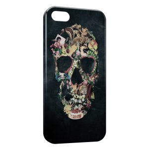 Coque iPhone 6 & 6S Tête de mort vintage