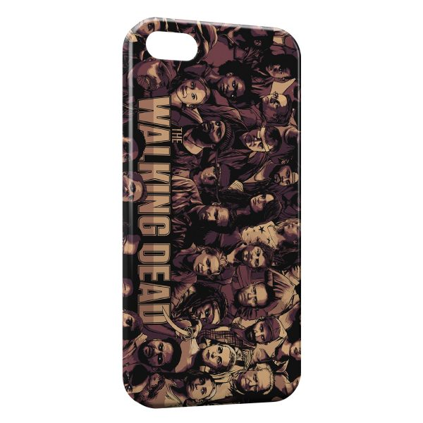 Coque iPhone 6 & 6S The Walking Dead 2