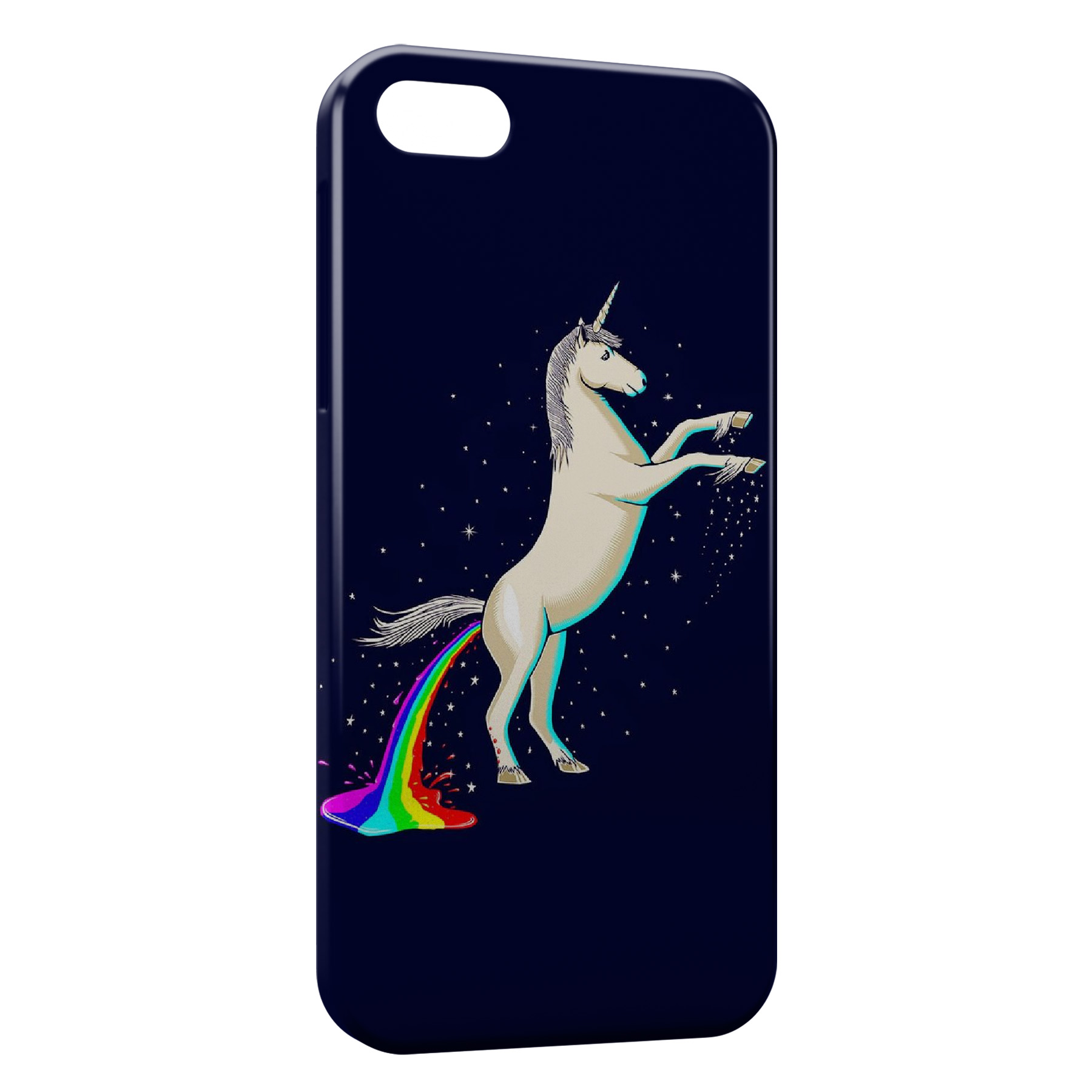 Coque iPhone 6 & 6S Uniorn Licorne Rainbow Thug