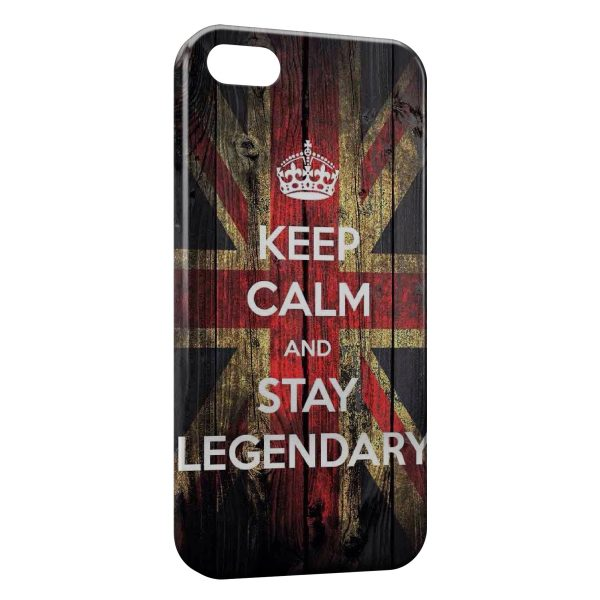 Coque iPhone 7 & 7 Plus Anglais Keep Calm and Stay Legendary