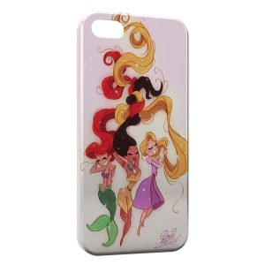 Coque iPhone 7 & 7 Plus Ariel Pocahontas Raiponce Princess