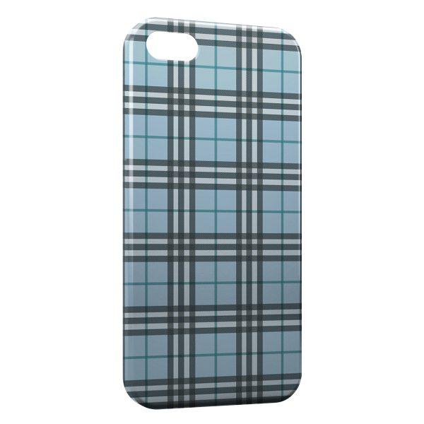 Coque iPhone 7 & 7 Plus Bleue Texture