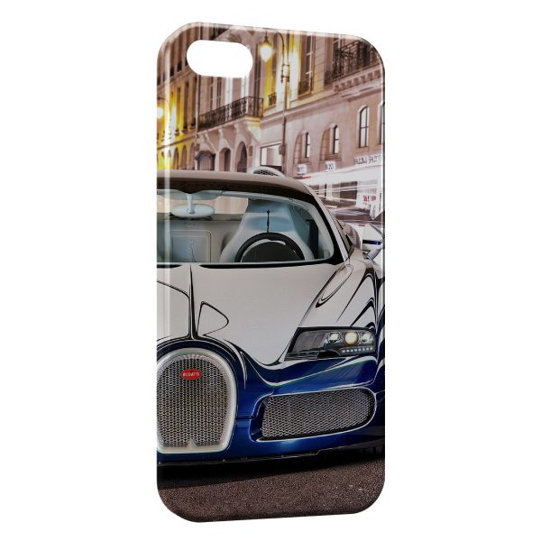 Coque iPhone 7 & 7 Plus Bugatti lock screen Voiture
