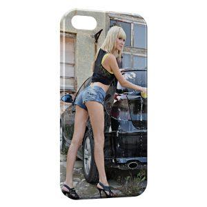 Coque iPhone 7 & 7 Plus Car Wash Girl 2