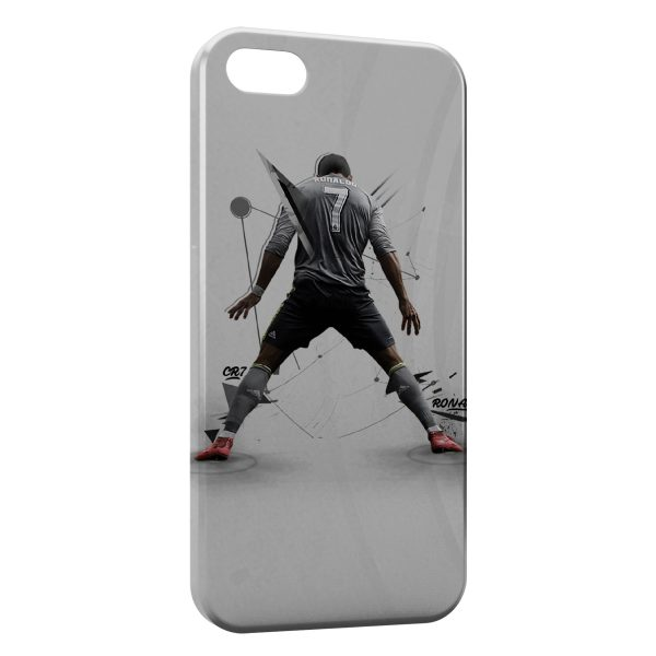 Coque iPhone 7 & 7 Plus Cristiano Ronaldo Football Art 2