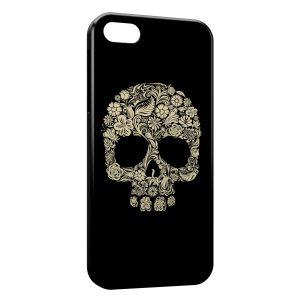 Coque iPhone 7 & 7 Plus Flowers Skull