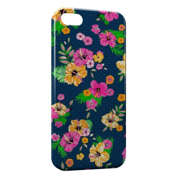 Coque iPhone 7 & 7 Plus Flowers Vintage 11