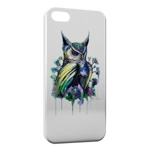 Coque iPhone 7 & 7 Plus Hiboux Paint