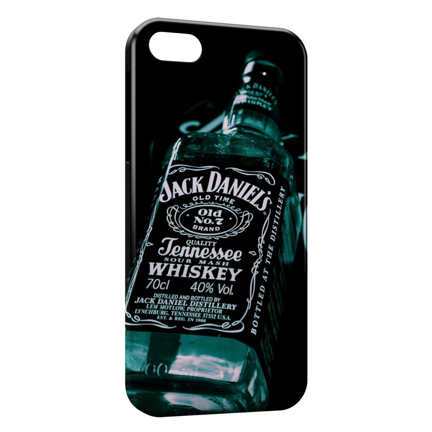 Coque iPhone 7 7 Plus Jack Daniels Black Gold