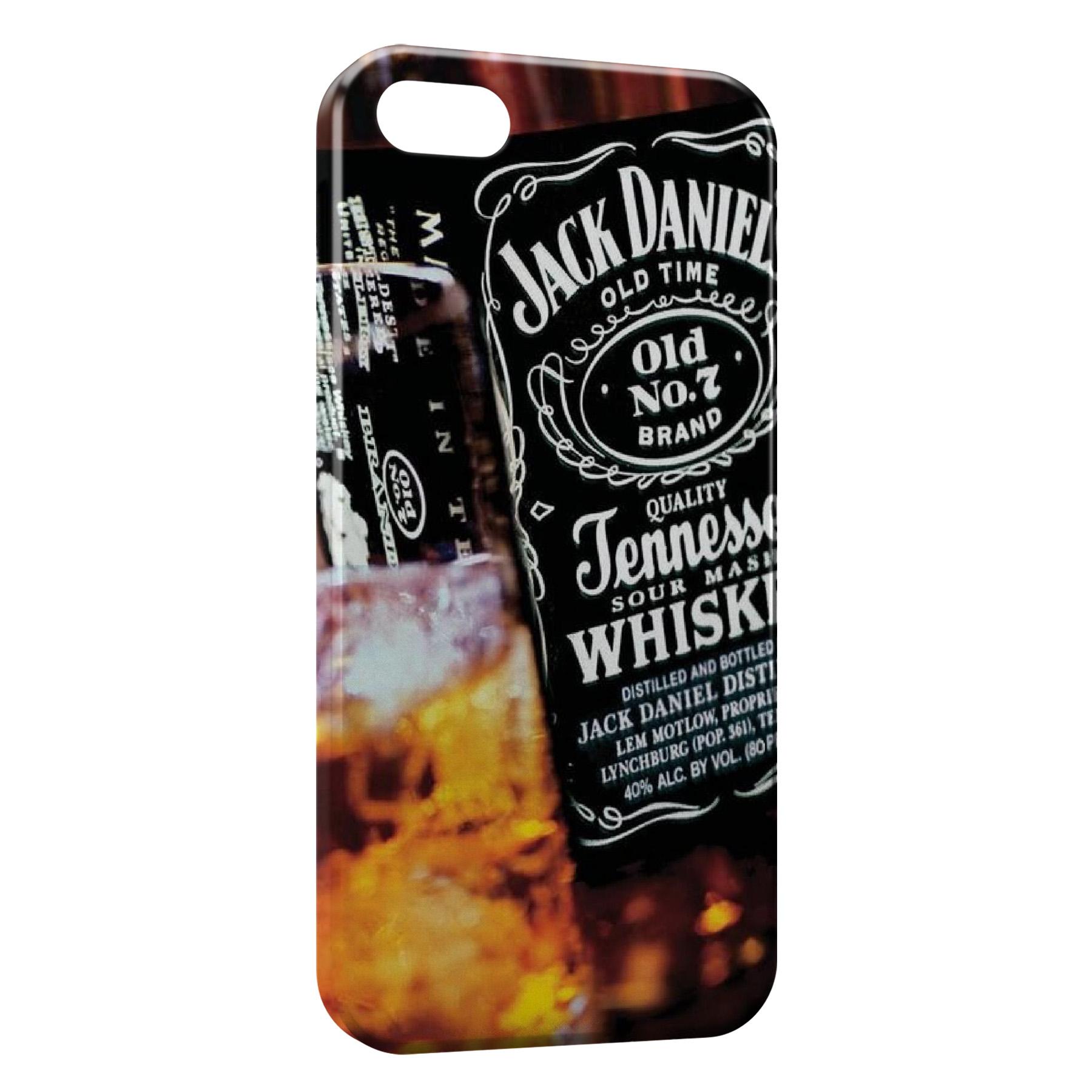 Coque iPhone 7 7 Plus Jack Daniels Gold Art Graphic