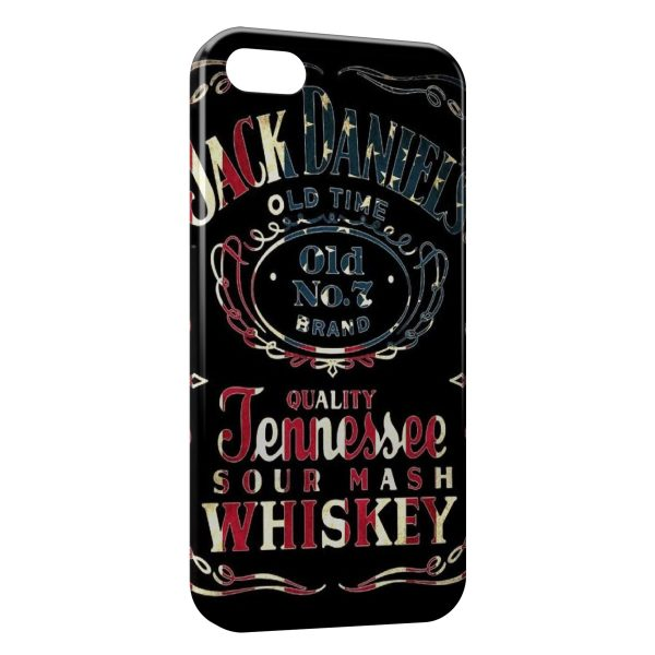 Coque iPhone 7 7 Plus Jack Daniels USA 600x600