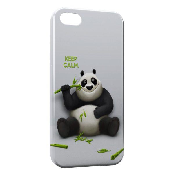 Coque iPhone 7 & 7 Plus Keep Calm Panda