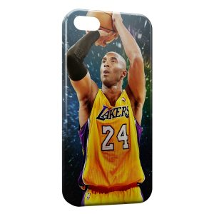Coque iPhone 7 & 7 Plus Kobe Bryant Lakers Basketball