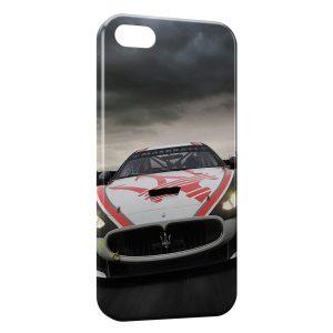 Coque iPhone 7 & 7 Plus Maserati Luxe Voiture