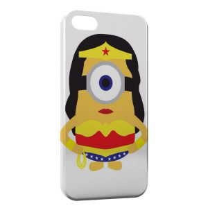 Coque iPhone 7 & 7 Plus Minion Superwoman