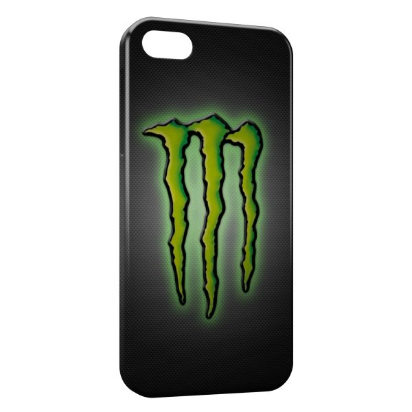Coque iPhone 7 & 7 Plus Monster Energy Logo Green