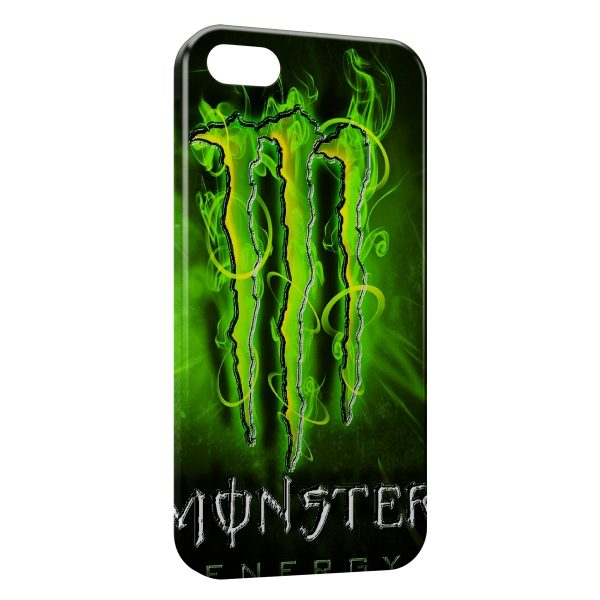 Coque iPhone 7 & 7 Plus Monster Energy New Green