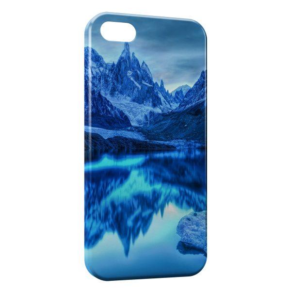 Coque iPhone 7 & 7 Plus Montagne & Mer