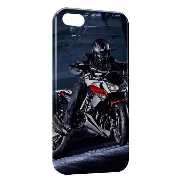 Coque iPhone 7 & 7 Plus Moto Sport Rider Kawasaki 3