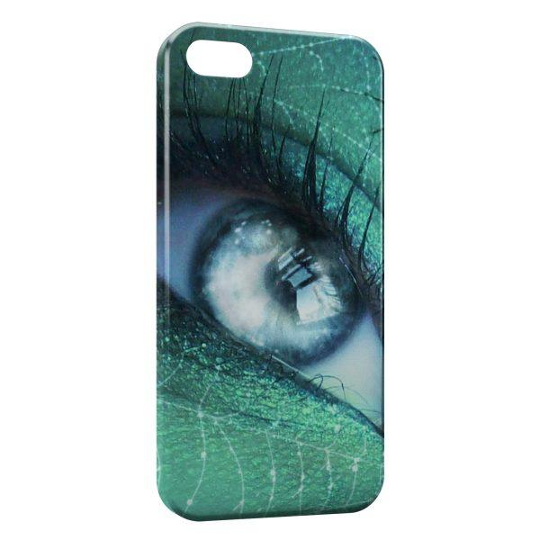 Coque iPhone 7 & 7 Plus Oeil Vert