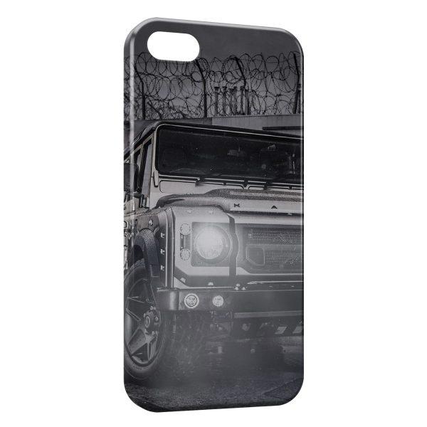 Coque iPhone 7 & 7 Plus Off-road Land Rover Defender 4x4