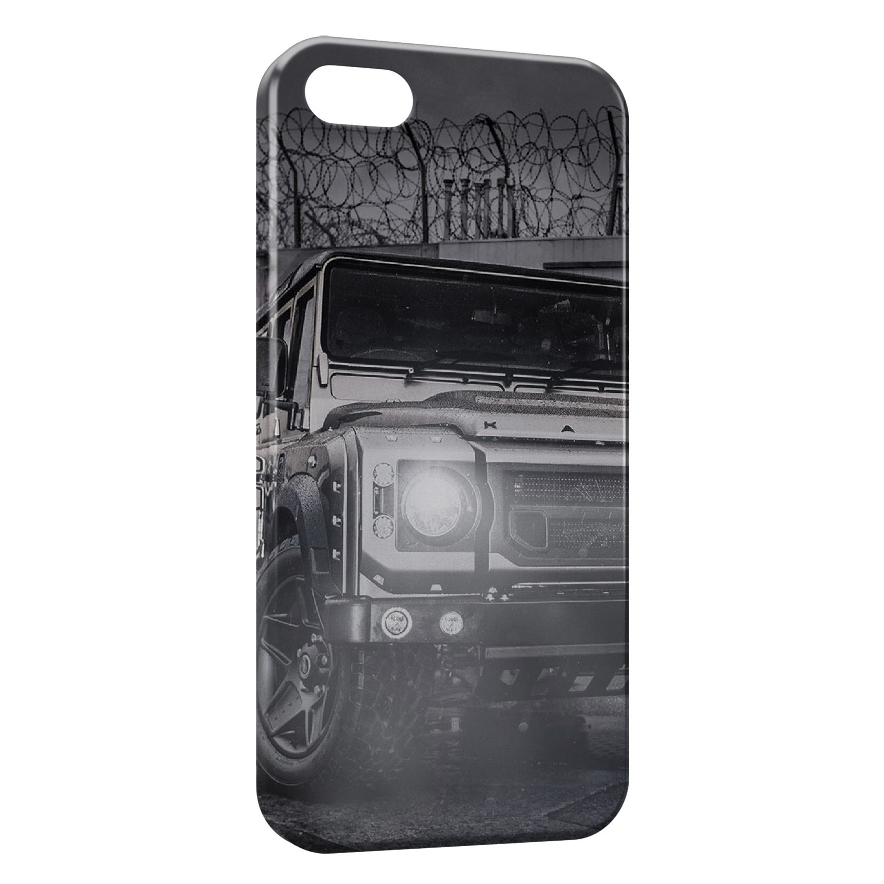 Coque iPhone 7 7 Plus Off road Land Rover Defender 4x4