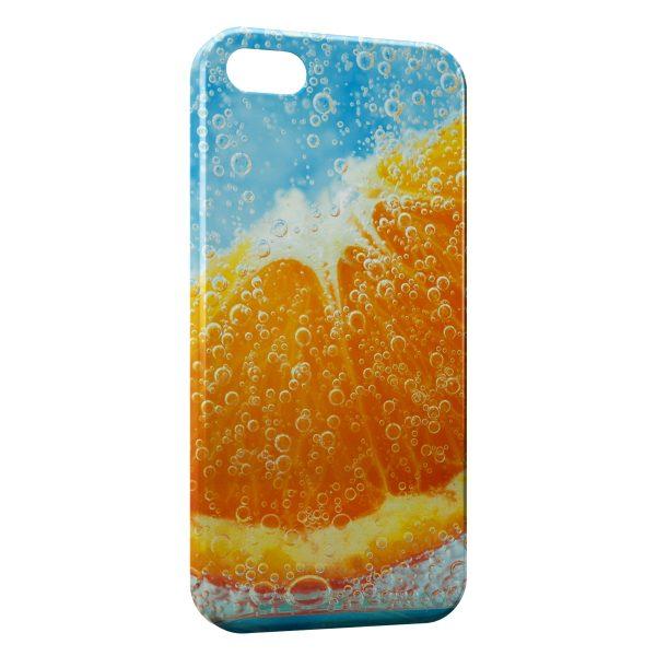 coque orange iphone 7 plus