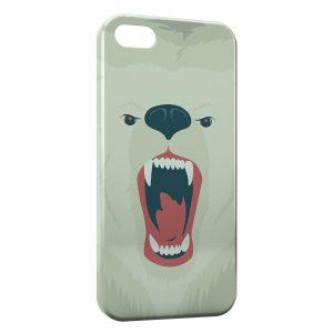 Coque iPhone 7 & 7 Plus Ourson Blanc