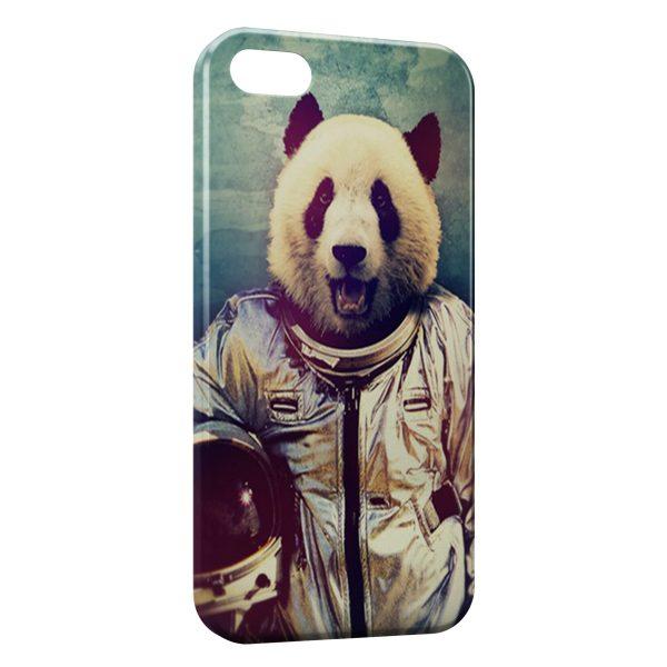 Coque iPhone 7 & 7 Plus Panda Astronaute