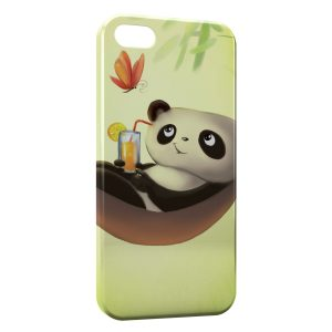 Coque iPhone 7 & 7 Plus Panda Cute Kawaii Hamac