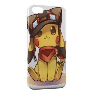 Coque iPhone 7 & 7 Plus Pikachu Aviateur Pokemon Cute