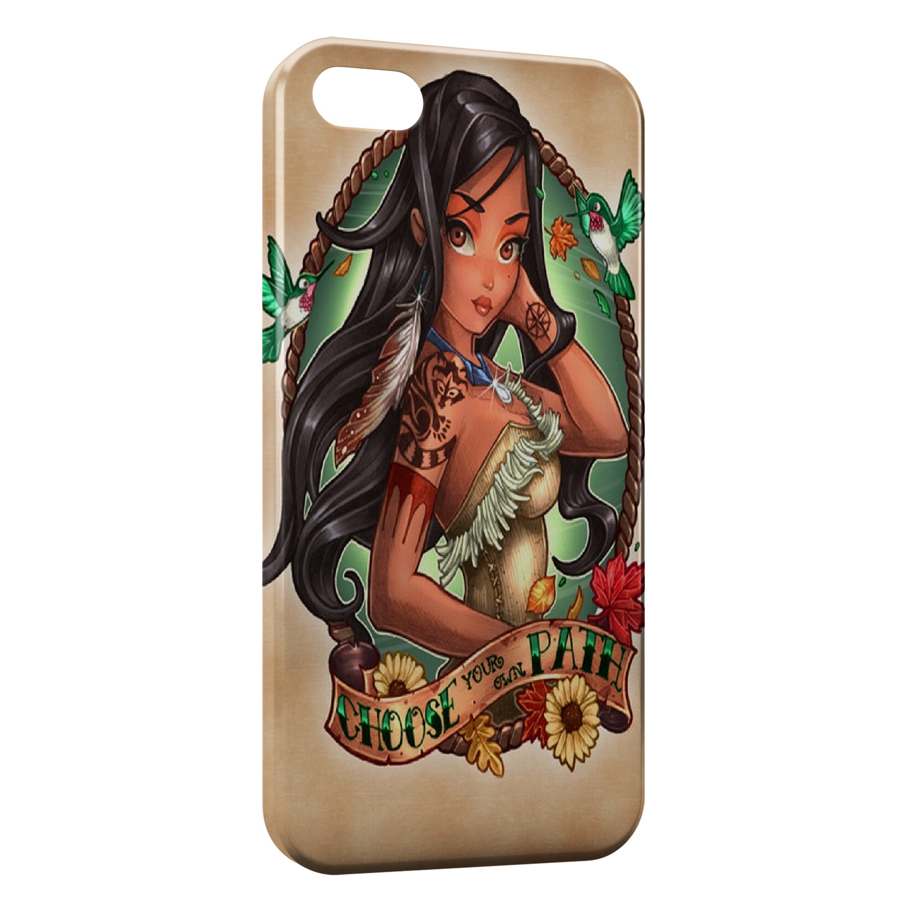 Coque iPhone 7 & 7 Plus Pocahontas Punk