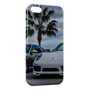 Coque iPhone 7 & 7 Plus Porsche et Palmier