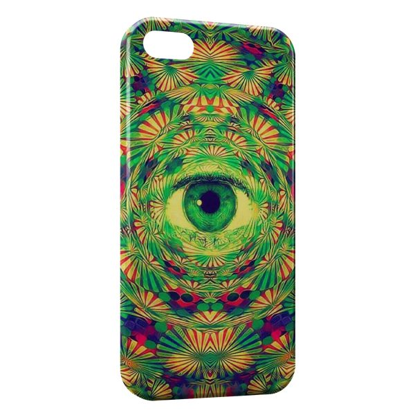 Coque iPhone 7 & 7 Plus Psychedelic Eye