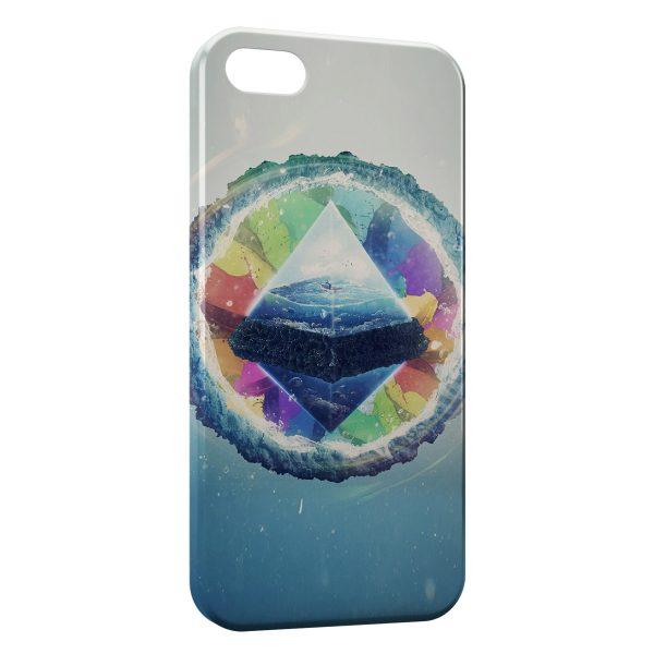Coque iPhone 7 & 7 Plus Pyramide Art Design 4