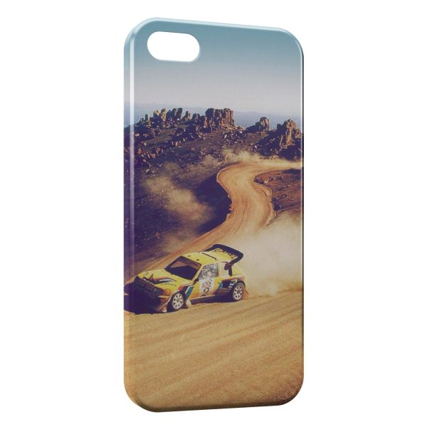 Coque iPhone 7 & 7 Plus Rally Racing Peugeot 205