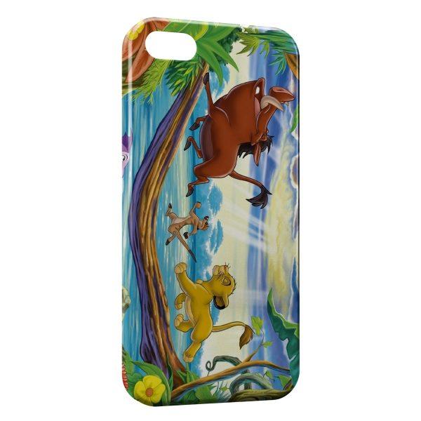 coque iphone 7 disney roi lion